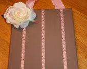 Cherry Blossom Ribbon Barrette Holder