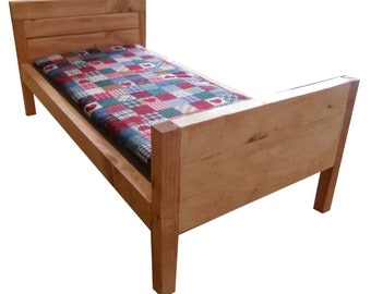 Wooden Doll Bed Fits An 18 to 20 Inch Doll  Includes The Mattress