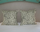 Brunschwig Les Touches Pillow Covers (Self Welt With Zipper)