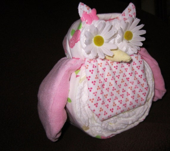 Owl Baby Shower Supplies: Items Similar To Diaper Owl Boy/Girl Diaper Animals (about