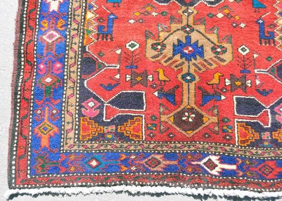 ON HOLD for MELANIE Meshkin North Persian Tribal Rug 7