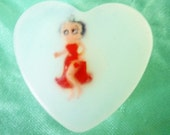Betty Boop SOAP bar for Kids and adults alike the soap with a Charm INSIDE