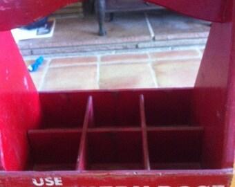 Wooden Carrier Box for Salesman - Antique to Primitive