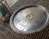Antique Silver cake stand