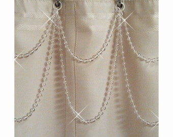 4TH OF JULY SALE:  Buy 1 Get 1 Free.... Shower Curtain Beaded Accessory.