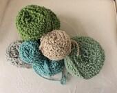 Various Colors Textured Yarn Stash