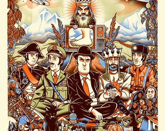 Their Satanic Majesties Flying Circus - Screenprint