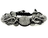 Swarovski Bracelet, Shamballa Bracelet Dragon Power, Swarovski Jewelry