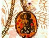 OSU Cowgirl Necklace