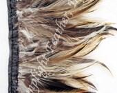 Rooster Hackle Trim - Badger