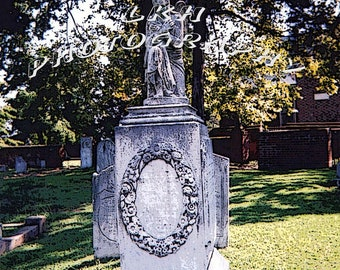 Angel In The Graveyard Photograph 2