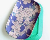 """Sakura tv tray, decorative tray, hostess gift """"Sakura Ame"""""""
