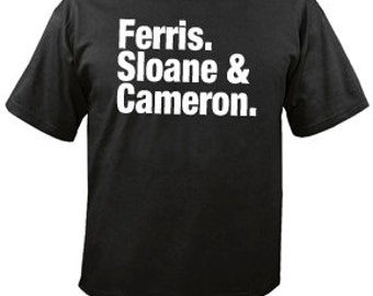FUNNY TSHIRT funny shirt ferris bluer tshirt cool tshirt humorous tshirt (sweatshirts, hoodies and American apparel also available) SM-5XL