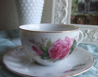 Rose Tea Cup ans Saucer set