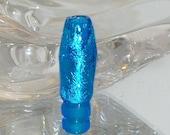 AQUA VAPE TIP. glass tip for Dct ego system. Aqua glass and silver foil