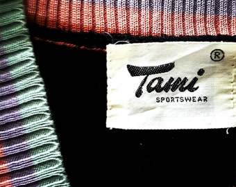 sale/ Vintage sweater vest/1970s knit top/ shirt by tami/vintage vest/sale shirt/sweater vest/vintage