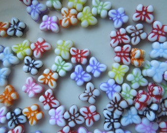 Butterfly Beads - Assorted Colors 5mm