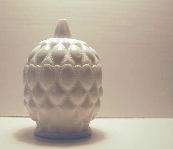 Vintage Westmoreland Milk Glass Candy Dish