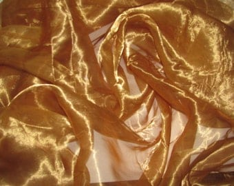 Golden Sheer Fabric