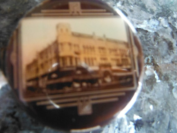 Celluloid Covered Advertising Tape Measure