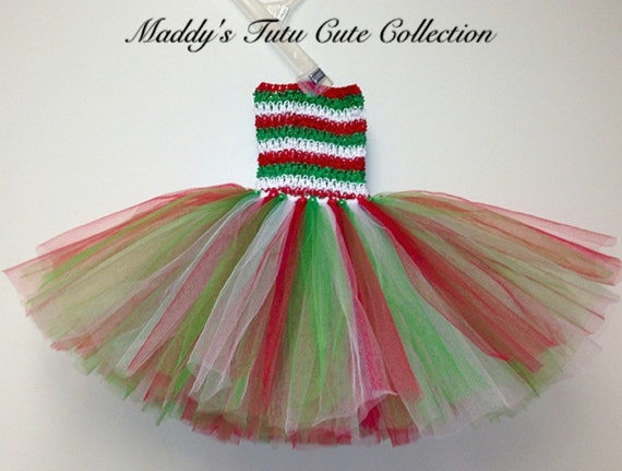 Christmas tutu dress size 0 6 months and 6 24 months