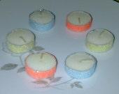Sparkly Wedding, Birthday, or Shower Tea Light Candles