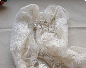 Chic Wedding Lace Fabric, retro lace fabric by the yard