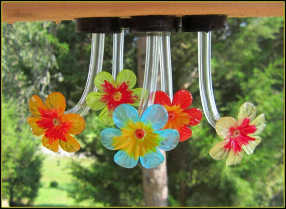 Hummingbird feeder tubes and stoppers...10 pcs by HummFee ...