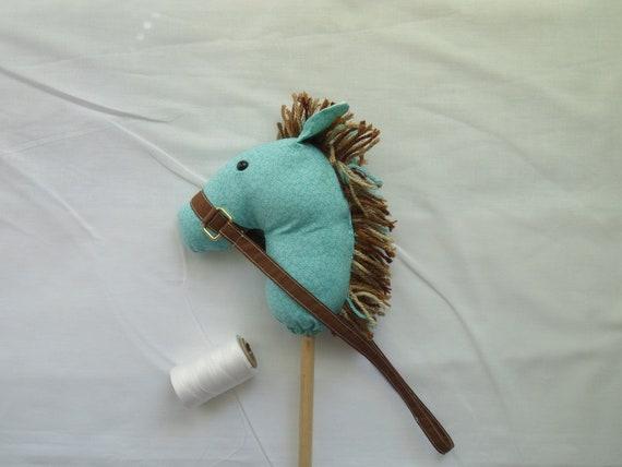Mini Horse Puppet, Doll Horse American Girl Pony  Toddler Pony Aqua Tiny Flowers