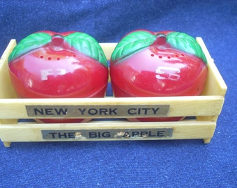 Salt and Pepper Apple Shakers