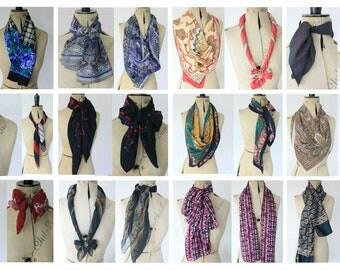 Buy 2 Get 1 FREE Vintage scarf