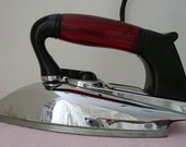Art Deco Style Electric Iron made by Detroit Iron Company