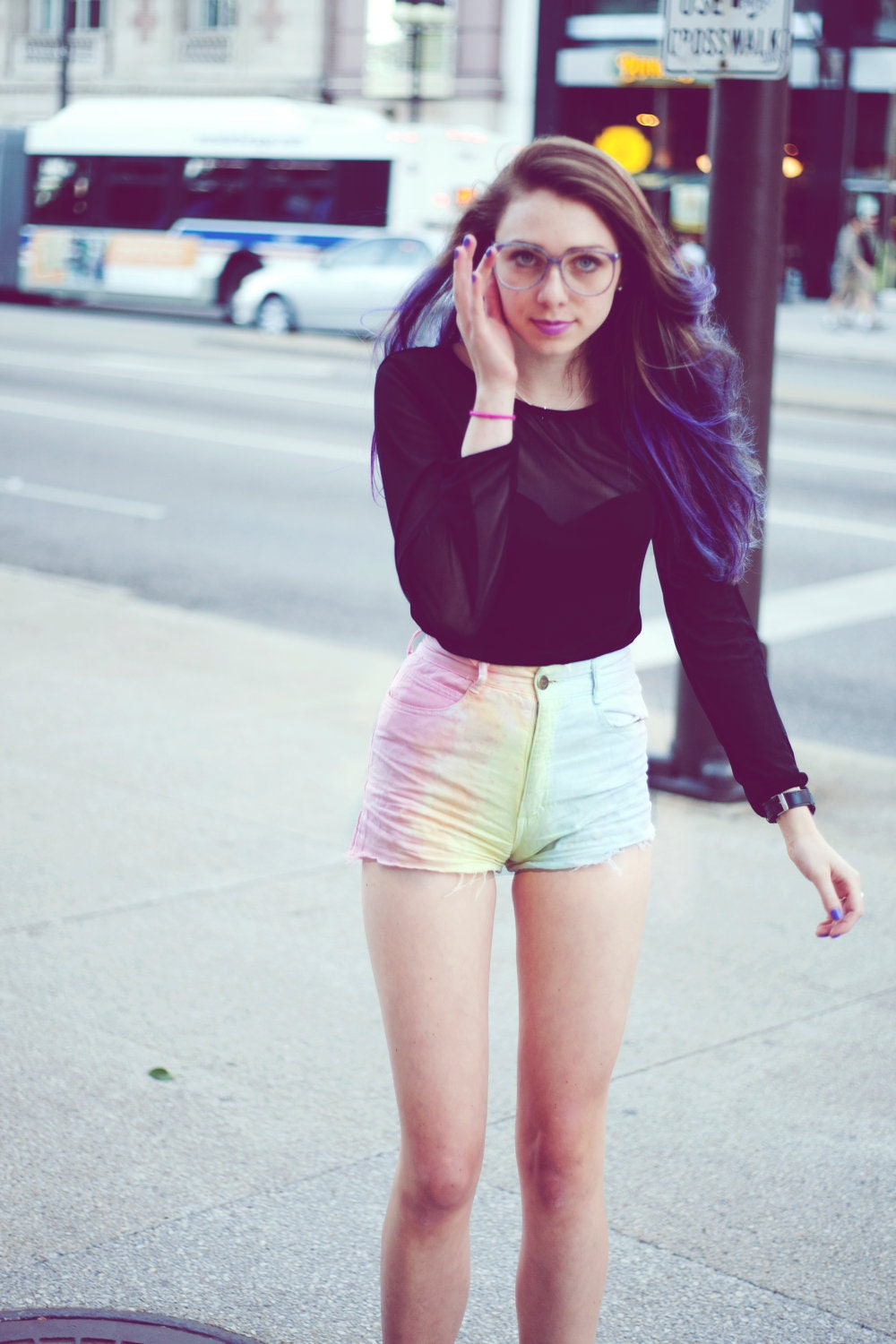 High Waisted Cheeky Shorts - The Else