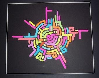 Neon Nazca Lines