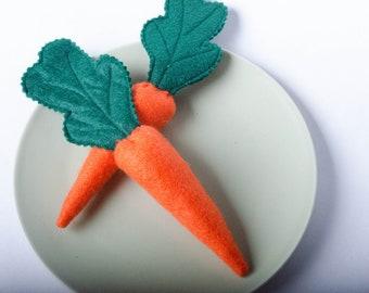 Carrots - Felt Play Food