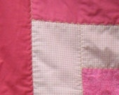 Toddler or Baby Girl Quilt - Patched with Love