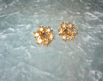 1950's ( Como ) Costume Jewelry Earrings