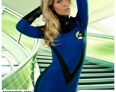 Replica of Sue Storm (invisible woman) Fantastic Four costume  sc 1 st  Etsy & Items similar to Replica of Sue Storm (invisible woman) Fantastic ...