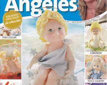 Cold Porcelain Magazine ANGELS (Angeles) by Leticia Suarez del Cerro (Spanish)