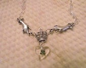 Claddagh Necklace and Charm