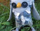 Blue Grey Owl