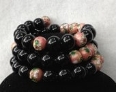 Wrap Bracelet and Earing