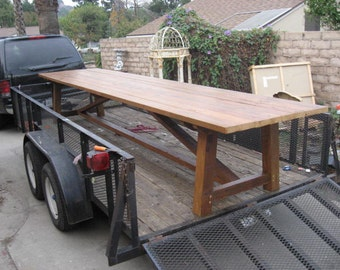 Somerset Harvest dining table reclaimed wood USA made