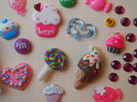 Sweet Tooth Custom Deco Kit for Cell Phone Case