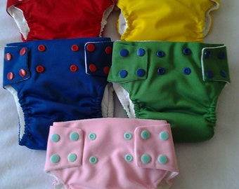 Fitted Waterproof Cloth Diaper