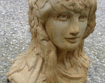 Mother Nature Head Planter