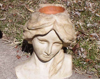 Athena Head Planter, Head Planter