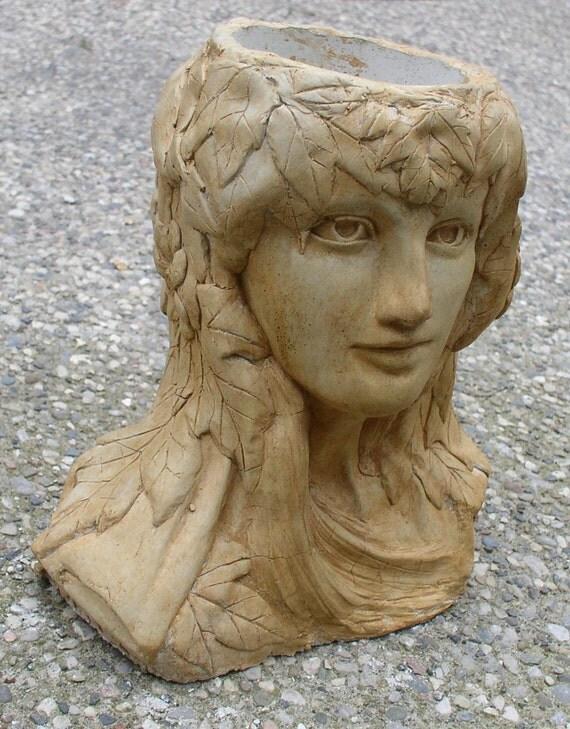 Mother nature head planter - Medusa head planter ...