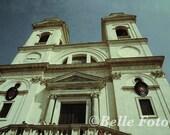 Vintage Rome Collection - Trinità dei Monti (Church) - Rome, Italy