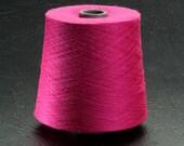 Fucshia Acrylic Yarn Machine Knitting 2lbs.Aprox.